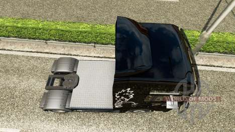 La piel de Mear en el camión MAN para Euro Truck Simulator 2