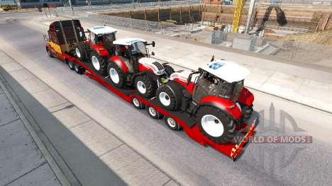 Baja de barrido Steyr Multi 4115 para American Truck Simulator