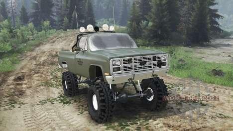Chevrolet K5 Blazer M1008 [03.03.16] para Spin Tires