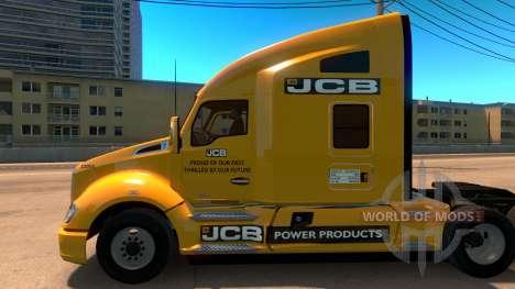 JCB piel para Kenworth T680 para American Truck Simulator