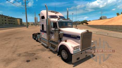 Скин Tío D Logística для Kenworth W900 para American Truck Simulator