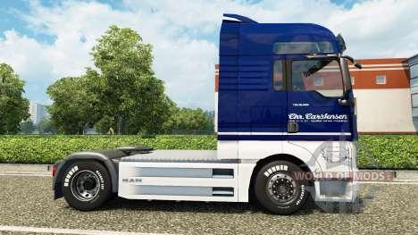 Carstensen piel para HOMBRE camión v2.0 para Euro Truck Simulator 2