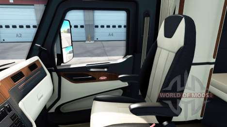 Los interiores de lujo en un Peterbilt 579 para American Truck Simulator