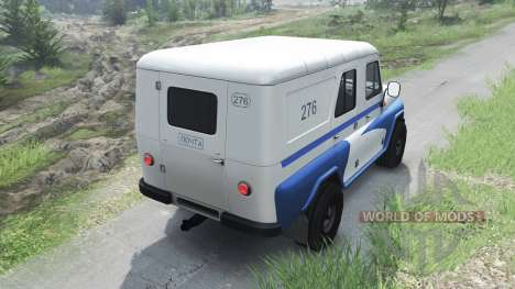 UAZ-469-Mail [03.03.16] para Spin Tires