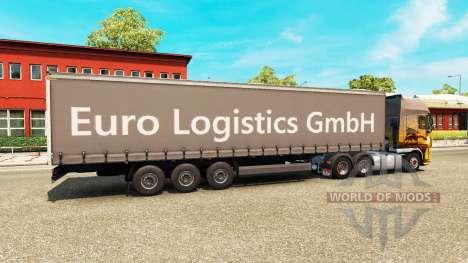 El Semi-Remolque Euro Logistics GmbH para Euro Truck Simulator 2