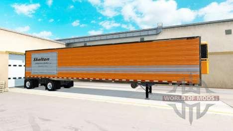 Remolque de eje de Great Dane Propagación de Eje para American Truck Simulator
