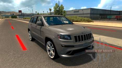 Jeep Grand Cherokee SRT8 para American Truck Simulator