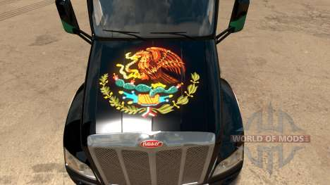 Skin Mexico Peterbilt 579 para American Truck Simulator