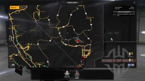 Mapa Del Área 51 para American Truck Simulator