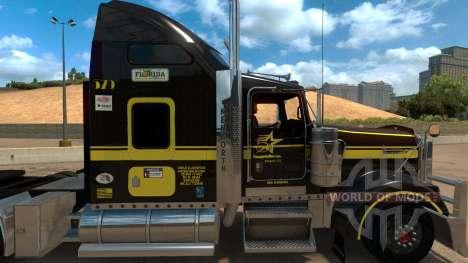 Five Star Transportations skin for Kenworth W900 para American Truck Simulator