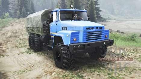 Kraz-260 [03.03.16] para Spin Tires