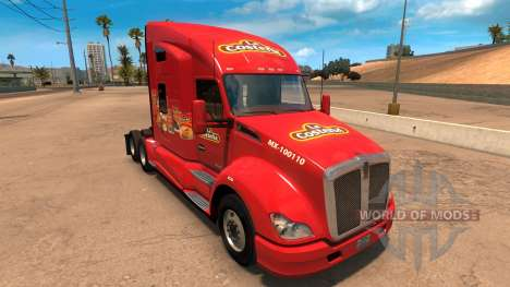 El skin de The Coastal para Kenworht T680 para American Truck Simulator