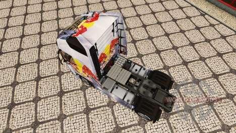 RedBull piel para camiones Volvo para Euro Truck Simulator 2