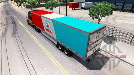Semi-remolque frigorífico para American Truck Simulator