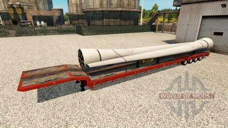 Una colección de trailers para Euro Truck Simulator 2