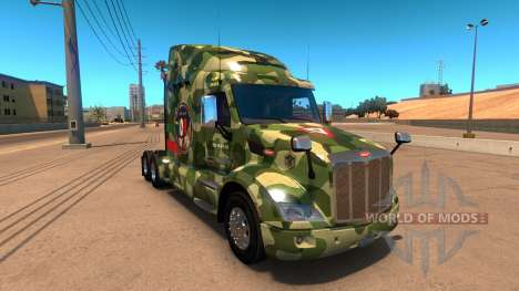 FAM piel para Peterbilt 579 para American Truck Simulator