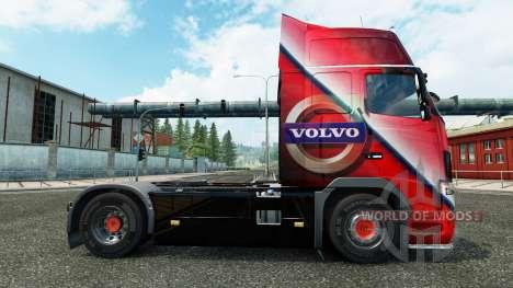 Volvo piel Especial para camiones Volvo para Euro Truck Simulator 2
