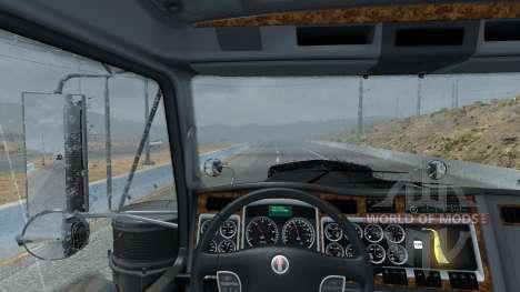 Nueva lluvia (Realistas en 3D TAME Lluvia Niebla para American Truck Simulator