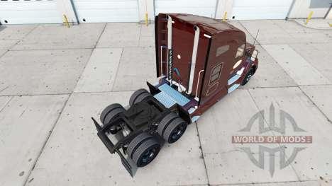Tim Hortons de la piel para Peterbilt y Kenworth para American Truck Simulator