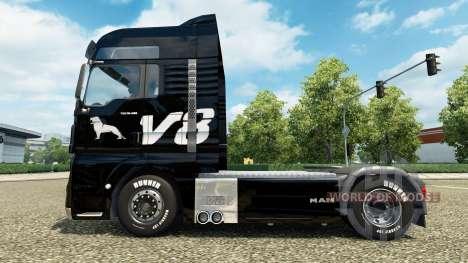 La piel del HOMBRE V8 de montacargas HOMBRE para Euro Truck Simulator 2