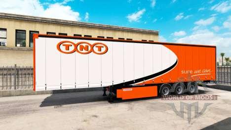 Una colección de 10 skins para remolques para American Truck Simulator