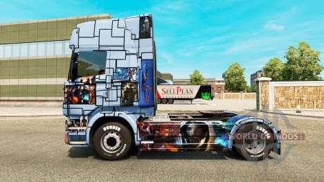 La piel de Mass Effect 3 en la unidad tractora S para Euro Truck Simulator 2