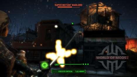 WH-Mk22 Heavy Machinegun para Fallout 4