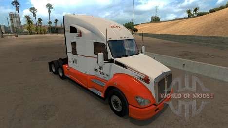 Navajo Express Inc. skin for Kenworth T680 para American Truck Simulator