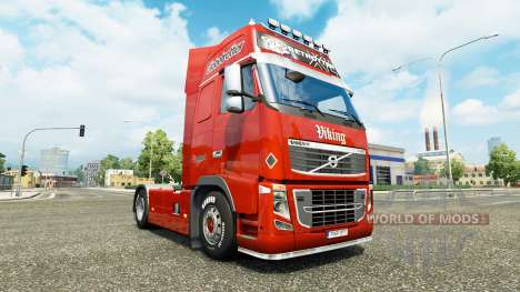 Lognet piel v2.0 para camiones Volvo para Euro Truck Simulator 2