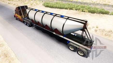 Semi-remolque, camión de cemento para American Truck Simulator