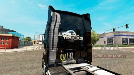 El Mundo de los Camiones de la piel para camione para Euro Truck Simulator 2