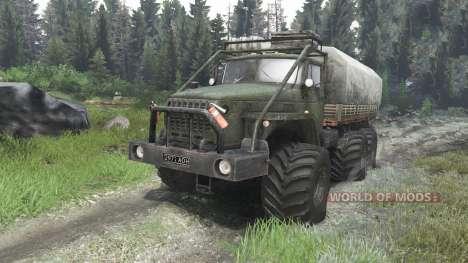Ural-4320-10 [03.03.16] para Spin Tires