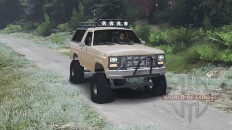Ford Bronco [03.03.16] para Spin Tires