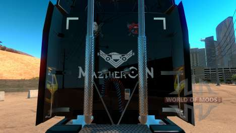Xbox piel para Peterbilt 579 para American Truck Simulator