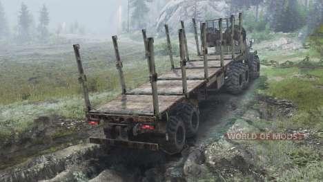 Ural-4320 [03.03.16] para Spin Tires