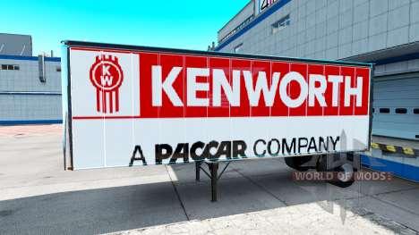Skins para Peterbilt y Kenworth semi para American Truck Simulator