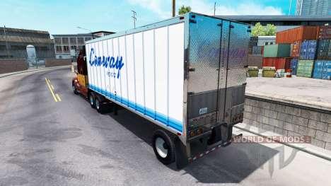 La piel de ConWay remolque para American Truck Simulator