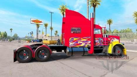 La piel camioneta Pick-up para el Peterbilt 389 para American Truck Simulator