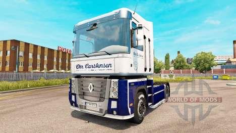 Carstensen de la piel para Renault Magnum tracto para Euro Truck Simulator 2