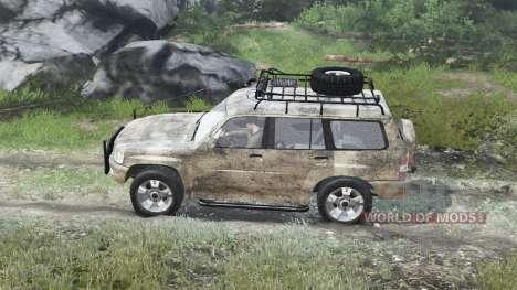 Nissan Patrol 2005 [03.03.16] para Spin Tires