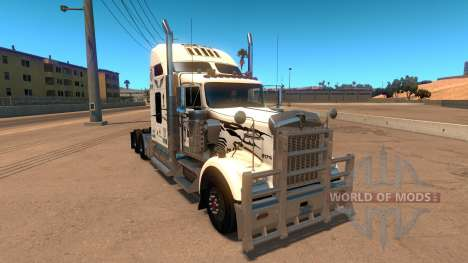 Uncle D Logistics - Master Craft Kenworth W900 S para American Truck Simulator