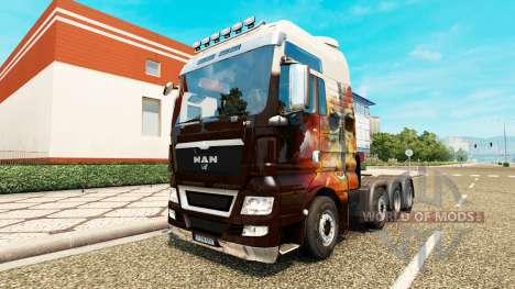 MAN TGX 8x8 para Euro Truck Simulator 2