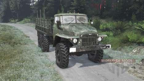 Ural-375 [03.03.16] para Spin Tires
