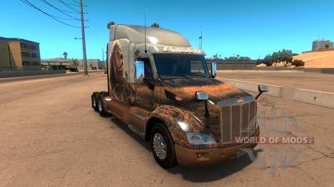 El sueño de la piel para Peterbilt 579 para American Truck Simulator