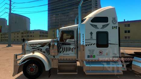 Uncle D Logistics - Master Craft Kenworth W900 S para American Truck Simulator