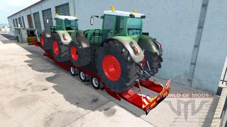 Baja de barrido Fendt 936 Vario para American Truck Simulator
