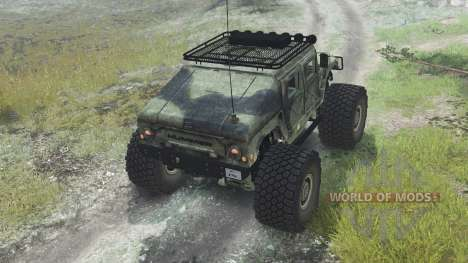 HMMWV M-1025 [03.03.16] para Spin Tires
