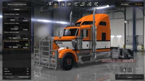 La física realista y la suspensión para American Truck Simulator