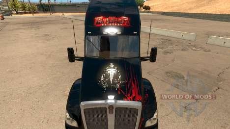 Skin Punisher for Kenworth T680 para American Truck Simulator