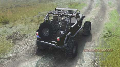 Jeep YJ 1987 [open top][03.03.16] para Spin Tires